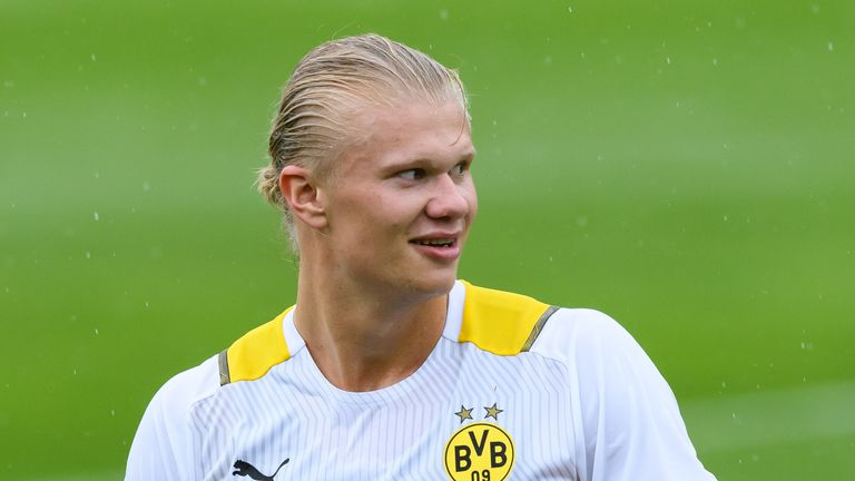 Erling Haaland has been speaking about his future during a pre-season training camp in Switzerland.
