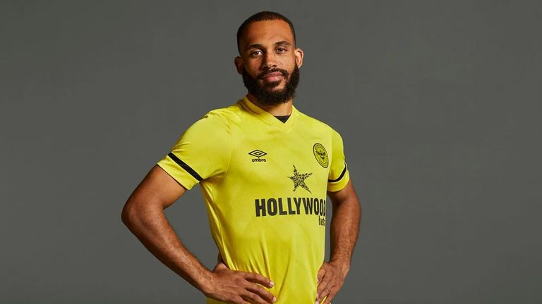 Brentford will sport a yellow away strip in the top flight