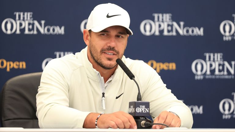 Koepka spoke to the media at Royal St George's on Tuesday