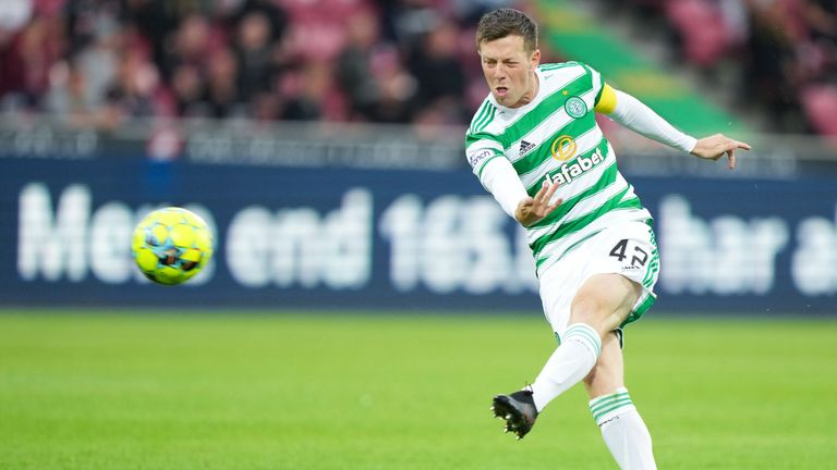 Callum McGregor spectacularly gives Celtic the lead