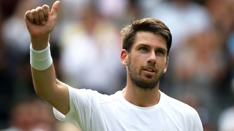 Cam Norrie reached the final at Queen's Club and he's now into the third round of Wimbledon