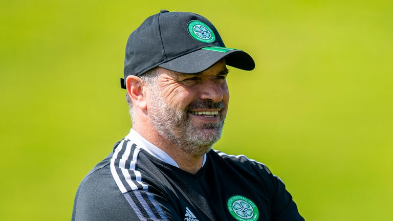Ange Postecoglou was appointed as  Celtic manager this summer with the task of reclaiming the title from Rangers' grasp