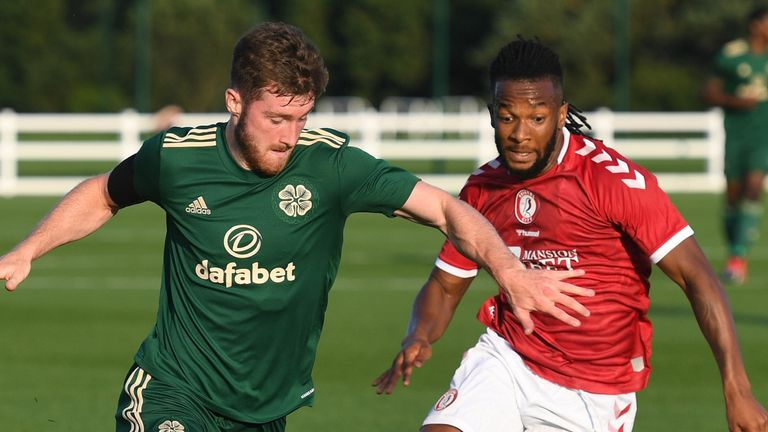 Anthony Ralston and Kasey Palmer go head-to-head as Bristol City hold Celtic to a goalless draw