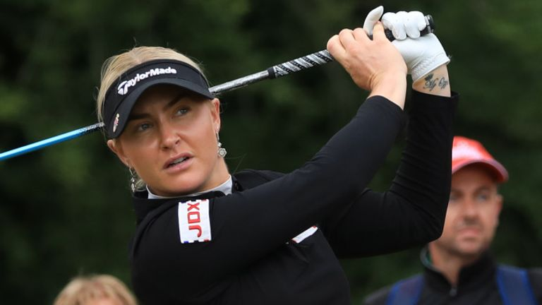 A look back at the best of the action from the opening day of the women's tournament at the ISPS Handa World Invitational, where Charley Hull and Georgia Hall were among the players to impress