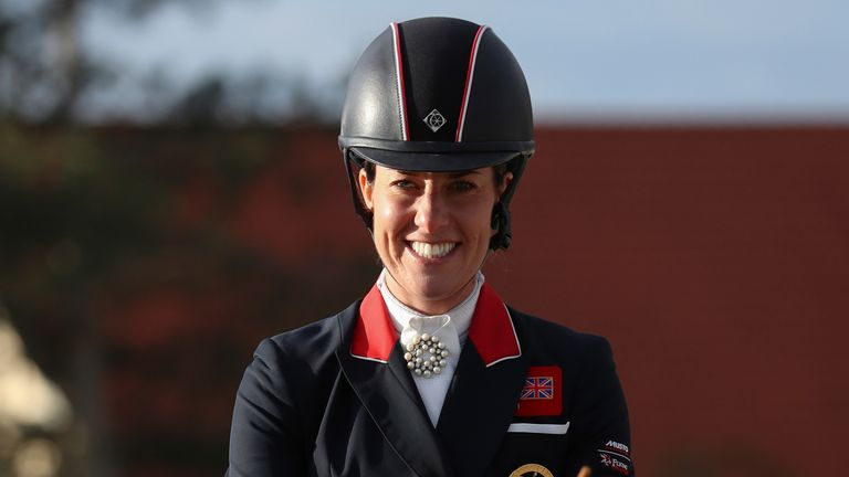 Charlotte Dujardin could make history with a third straight individual dressage Olympic gold medal