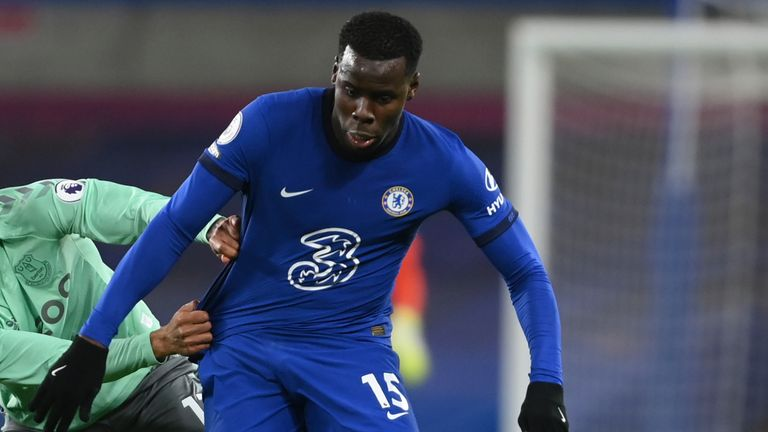 Kurt Zouma has played just 13 times in all competitions since Thomas Tuchel's arrival at Chelsea