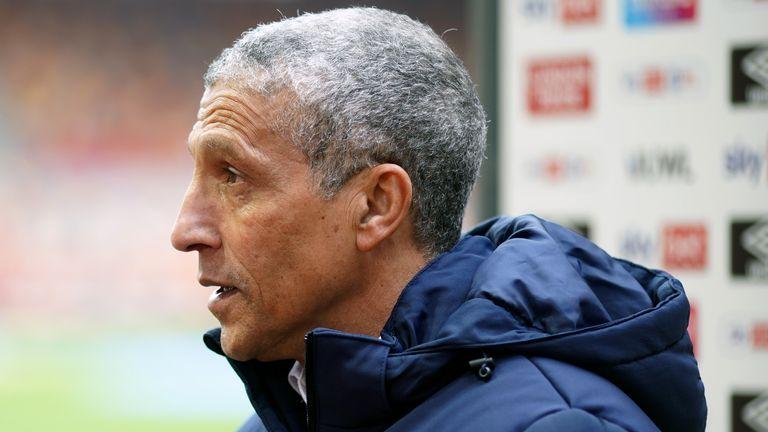 Nottingham Forest boss Chris Hughton (PA)