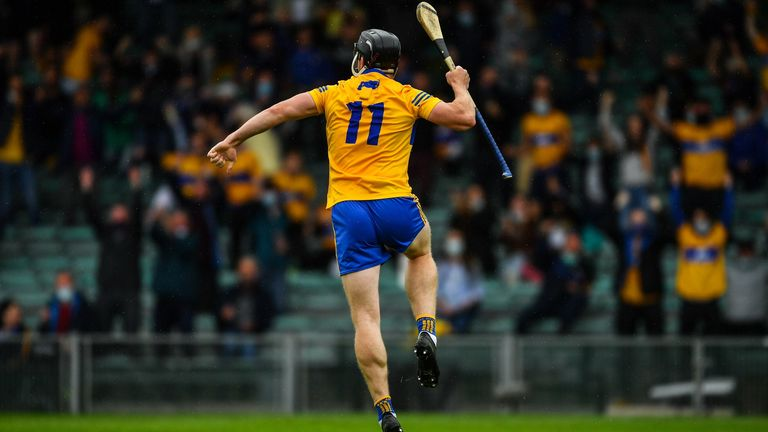 Clare were leading at half-time, but waned in the second half