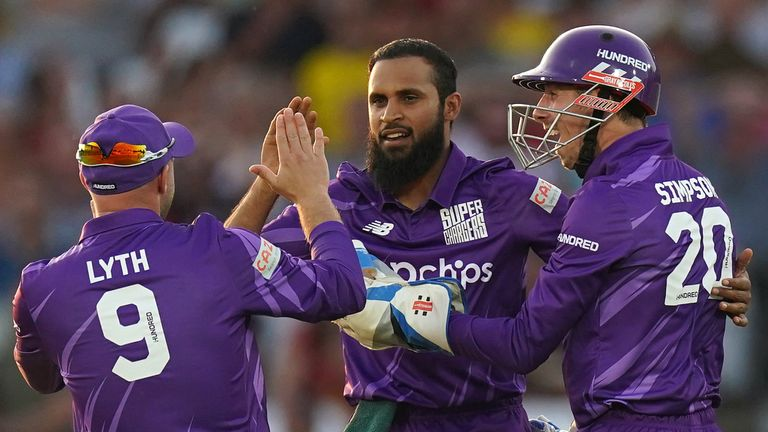 Rashid was the joint-top wicket-taker in the inaugural edition of The Hundred this summer