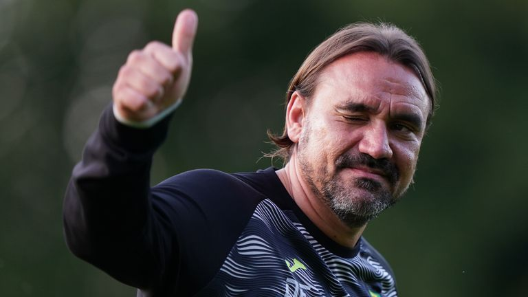 Norwich boss Daniel Farke signed a new four-year contract earlier this week