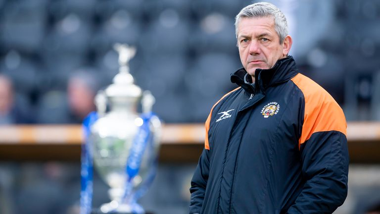 Daryl Powell has the opportunity to claim a trophy in his final season as Castleford head coach