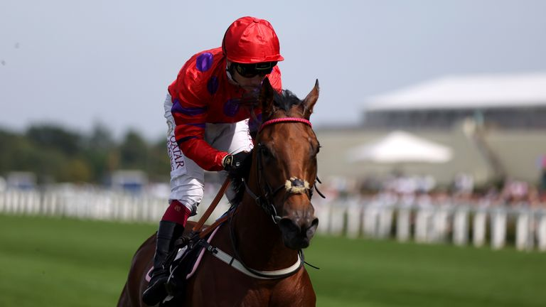 Oisin Murphy eases Dreamloper down after her impressive victory at Ascot