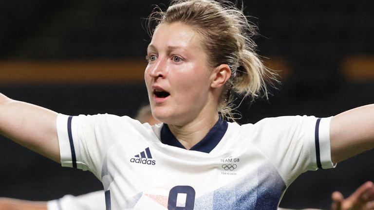 Ellen White has scored all three goals for Team GB at Tokyo 2020 so far