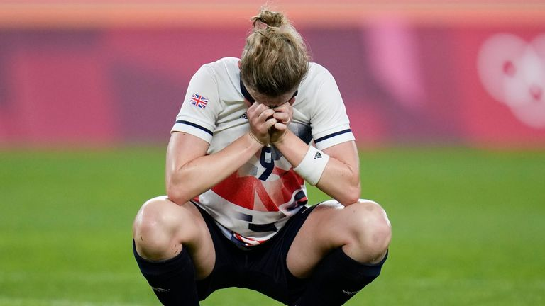 Las esperanzas de Gran Bretaña de una medalla se vieron frustradas por Australia