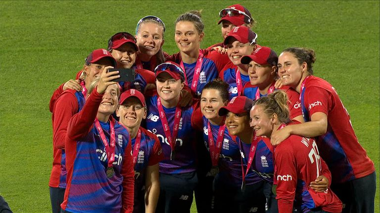 Highlights of the 3rd and final T20 of the series between England and India