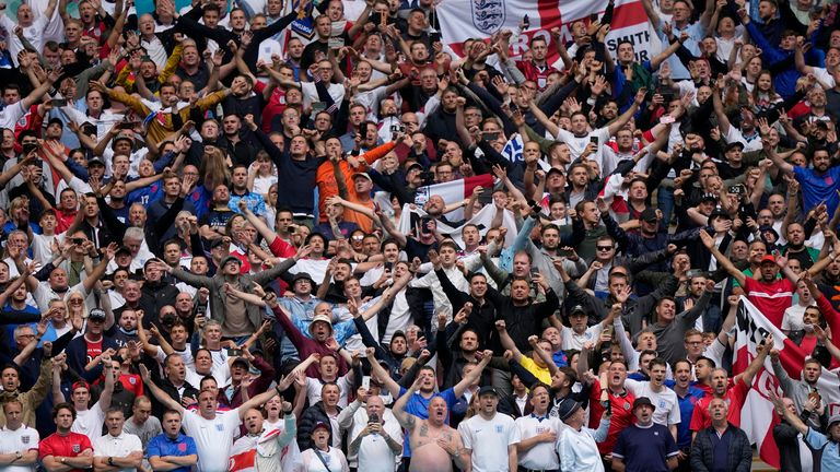 Wembley has seen a gradual increase in permitted attendances during this summer's Euro 2020 tournament