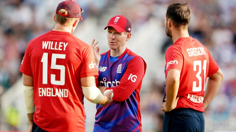 Could Eoin Morgan lose players from the T20 World Cup squad if they have to choose between that and The Ashes?