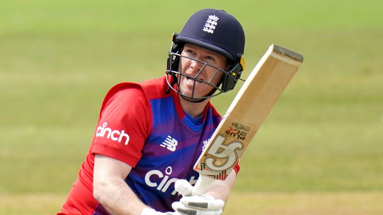 England captain Eoin Morgan has made scores of 11, one and 16 in his three T20 international innings so far this summer