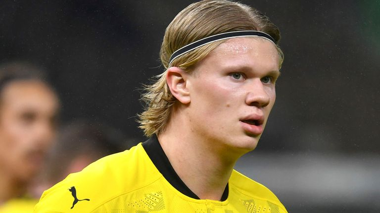 Erling Haaland: Chelsea's informal proposal for Borussia Dortmund striker  turned down by Bundesliga side   Football News   Sky Sports