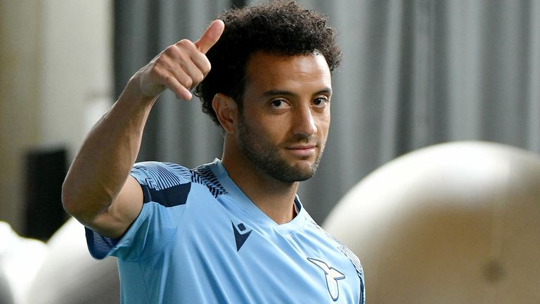 Felipe Anderson is set to join Lazio from West Ham (Getty)