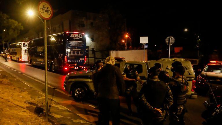 Boca Juniors players face Brazilian police after Copa Libertadores loss to Atletico Mineiro |  Football news