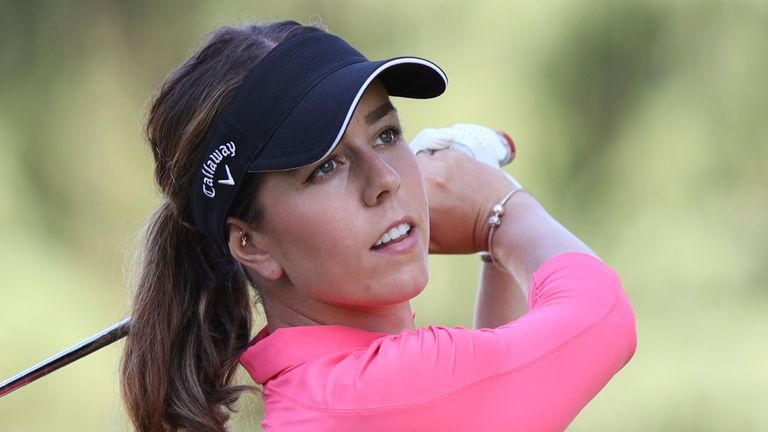 Georgia Hall claimed her major victory at the 2018 AIG Women's Open