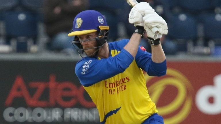 Graham Clark smashed a century as Durham topped 400 in their One-Day Cup win over Kent in Beckenham