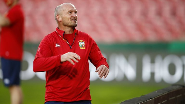 Lions attack coach Gregor Townsend is back with the squad in Cape Town after a period of self-isolation in Johannesburg