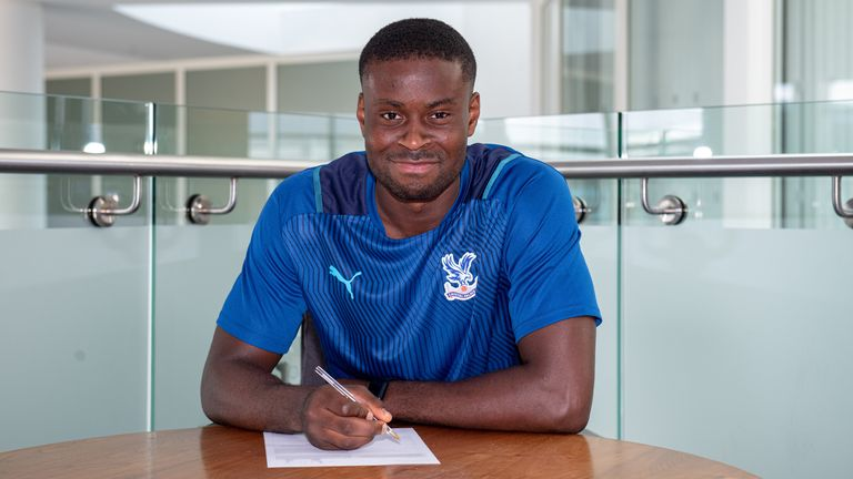 Marc Guehi has signed for Crystal Palace. Picture: cpfc.co.uk / Seb Frej