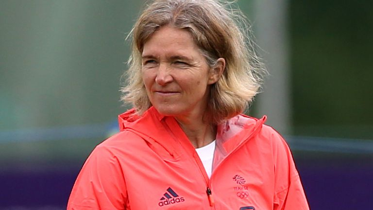 Hege Riise is the coach of the GB team for the 2020 Tokyo Olympics