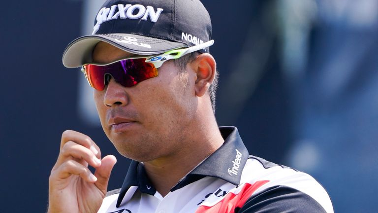 Matsuyama will play alongside Australia's Marc Leishman and Canada's Corey Conners over the first two days