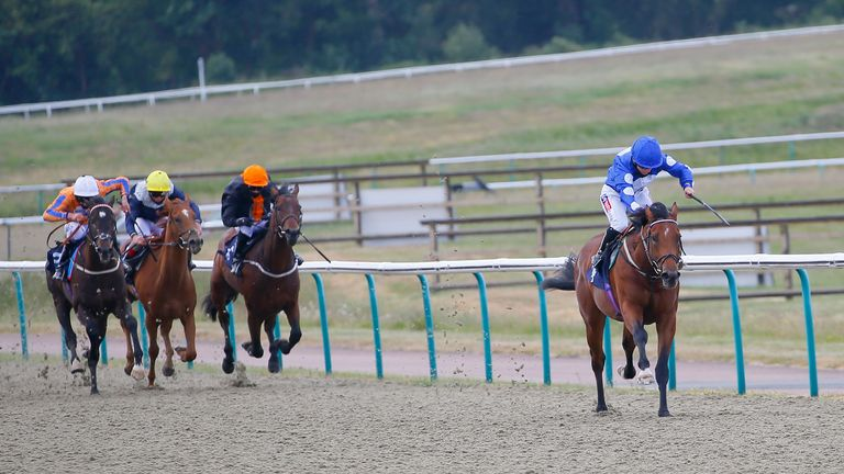 Doyle and Mighty Gurkha win impressively on debut at Lingfield