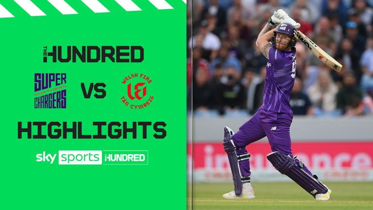 The best of the action from Headingley where Northern Superchargers took on the Welsh Fire in The Hundred