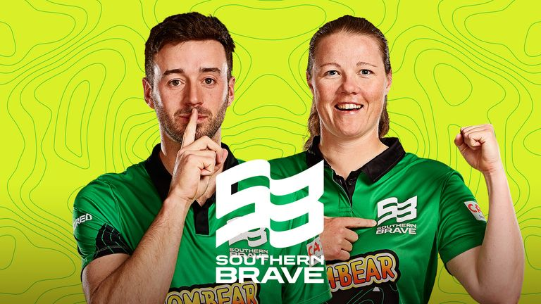 James Vince and Anya Shrubsole of Southern Brave