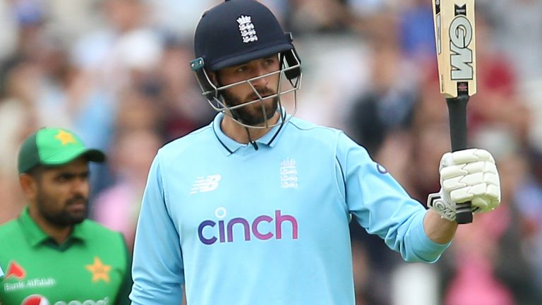 James Vince was typically stylish in reaching a 36-ball half-century