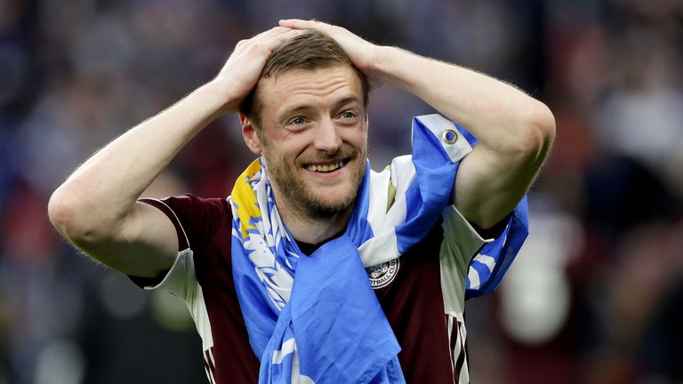 Jamie Vardy was playing non-league football at 23-years-old before moving up through the divisions