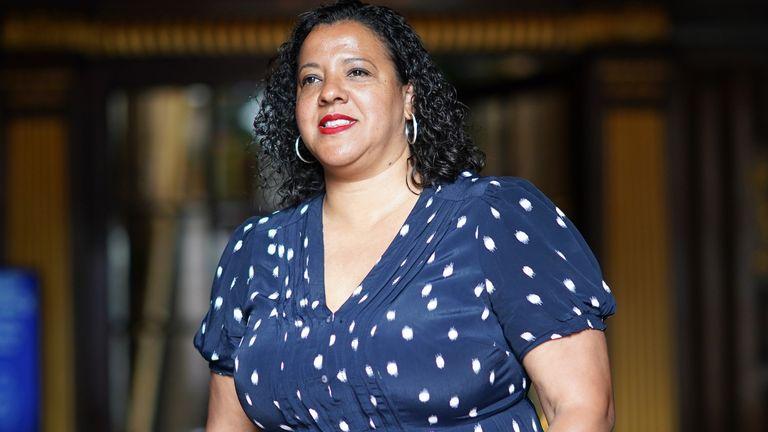 Liverpool city mayor Joanne Anderson