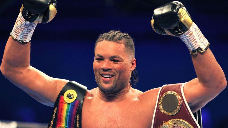 Joe Joyce could be open to British heavyweight battle vs Derek Chisora as he