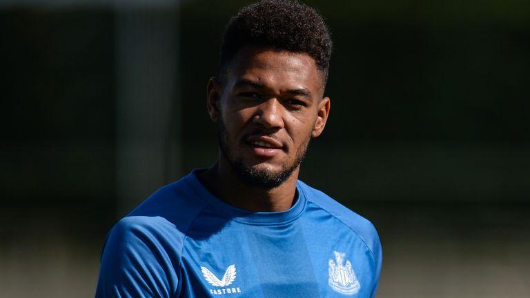 Newcastle forward Joelinton (Getty)