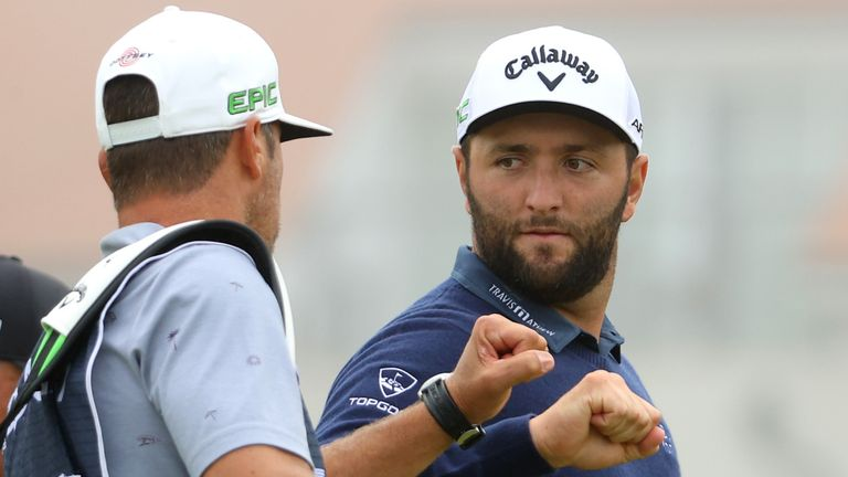 Rahm has carded rounds of 66 and 65 over the first two days