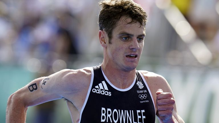 Jonny Brownlee earned a gold medal at his last Olympic Games