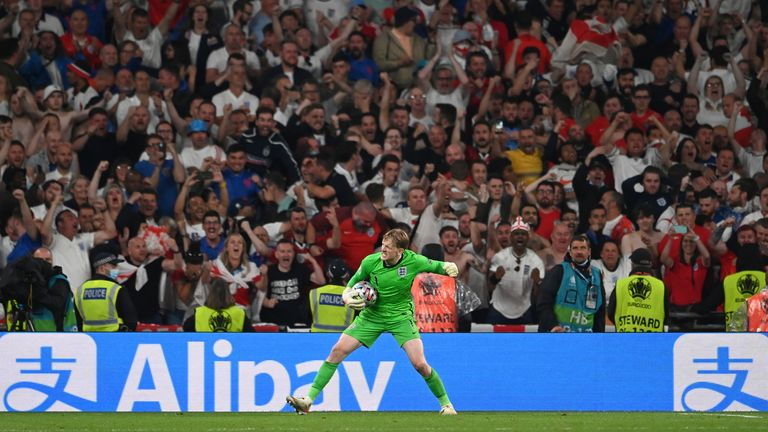 For a brief moment, Pickford had England fans believing again