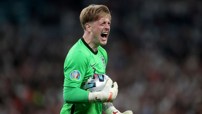 Pickford produced consistently for the Three Lions