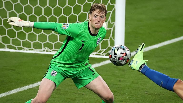 Pickford's concentration levels impressed throughout Euro 2020