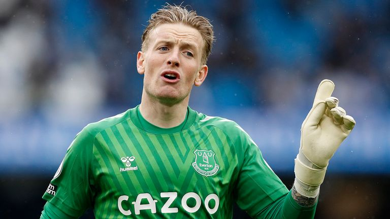 A more mature Jordan Pickford is now emerging