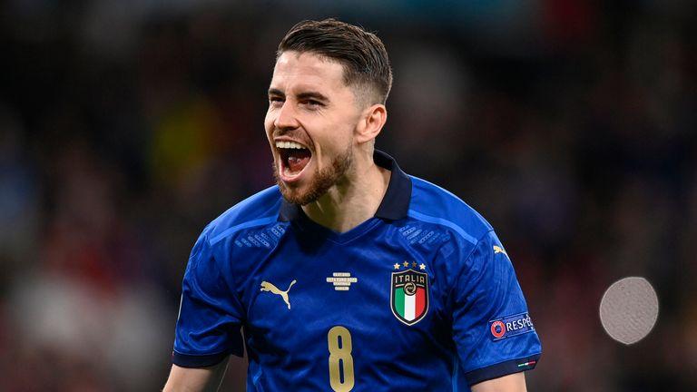 Jorginho is seen as instrumental in Italy's midfield