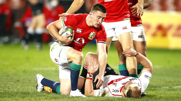 British & Irish Lions: Josh Adams earns Warren Gatland plaudits after four-try haul   Rugby Union News
