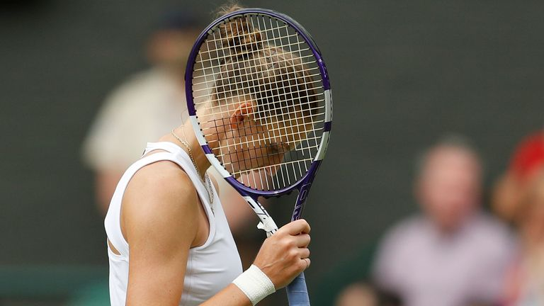 Pliskova will return to the world's top 10 in Monday's updated rankings but the 29-year-old remains without a Grand Slam title (AP)