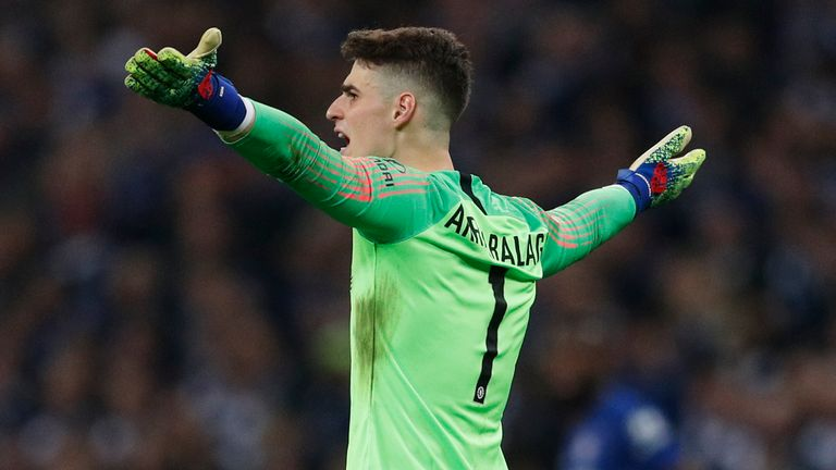 Chelsea goalkeeper Kepa Arrizabalaga says the substitution confusion during the 2019 Carabao Cup final against Manchester City was  'a big misunderstanding'