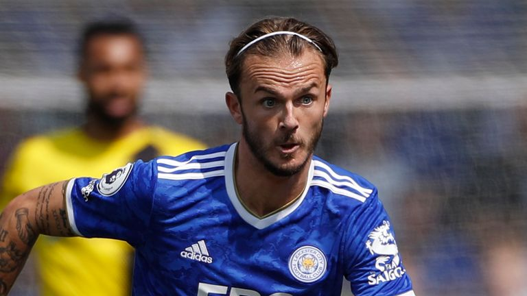 Arsenal are interested in Leicester City midfielder James Maddison